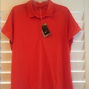Nike Golf women's NWT Dri Fit Golf Polo Shirt XXL